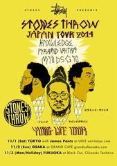 YUNG LIFE TOUR – KNX, MNDSGN & PYRAMID VRITRA IN JAPAN